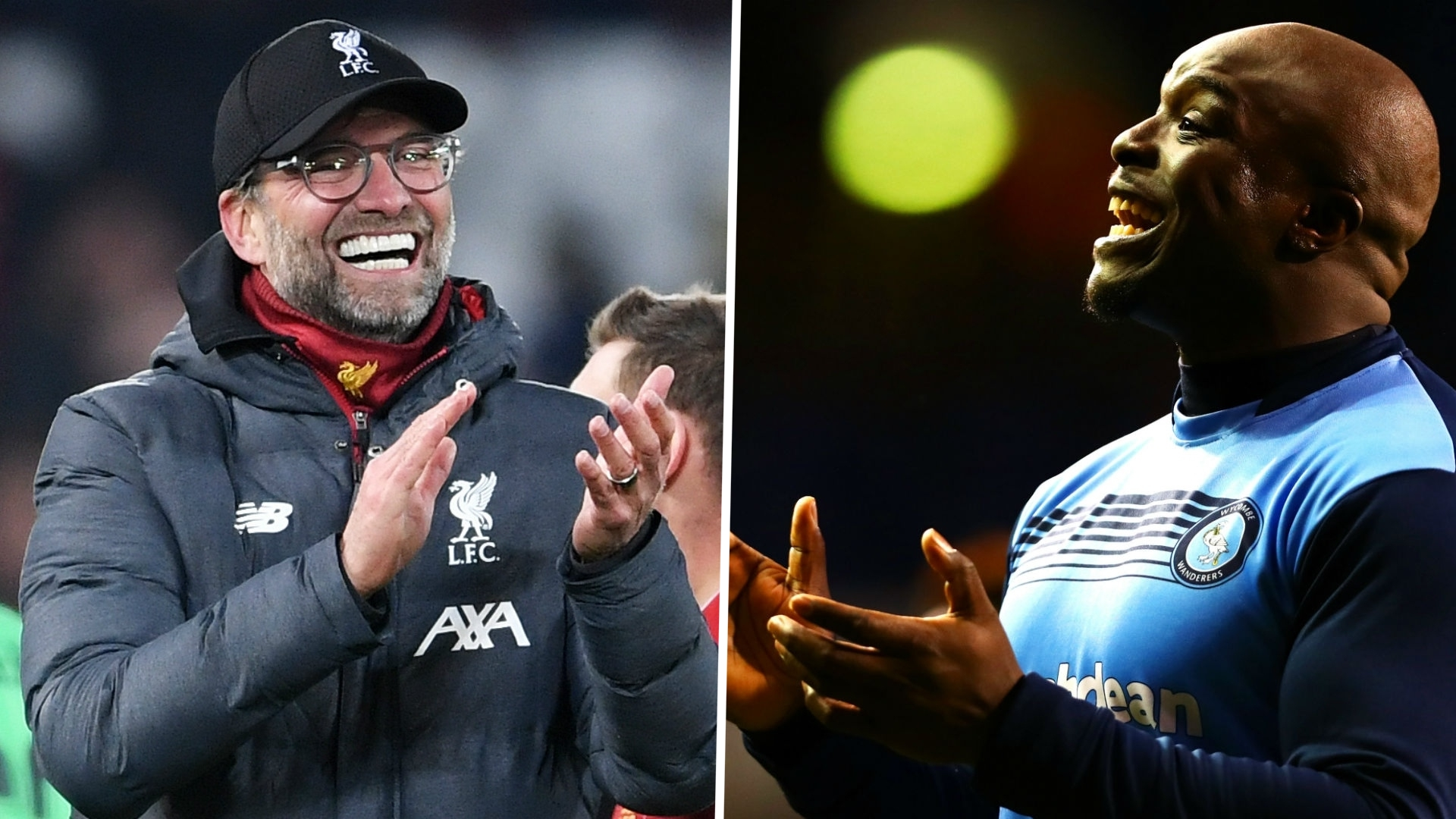 Klopp contacts Akinfenwa on WhatsApp to celebrate Wycombe's Championship promotion