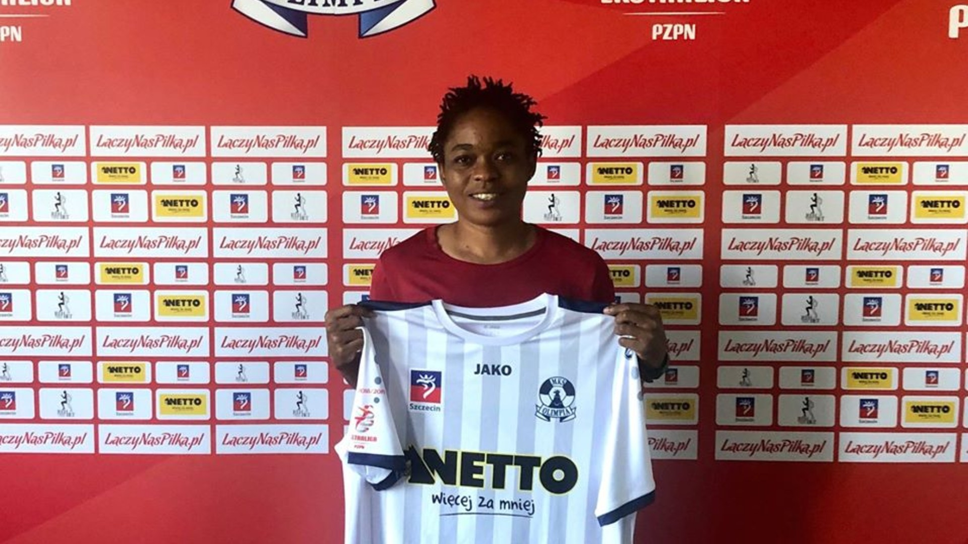 Mpeh Bissong: Cameroon striker signs for Olimpia Szczecin