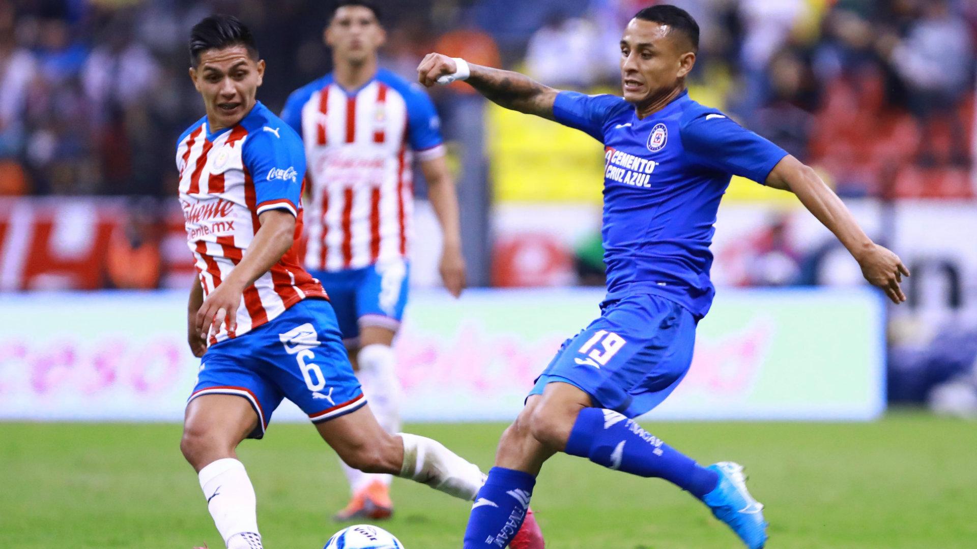 Cruz Azul Vs Chivas Por La Liga Mx Goles Resumen Y Videos