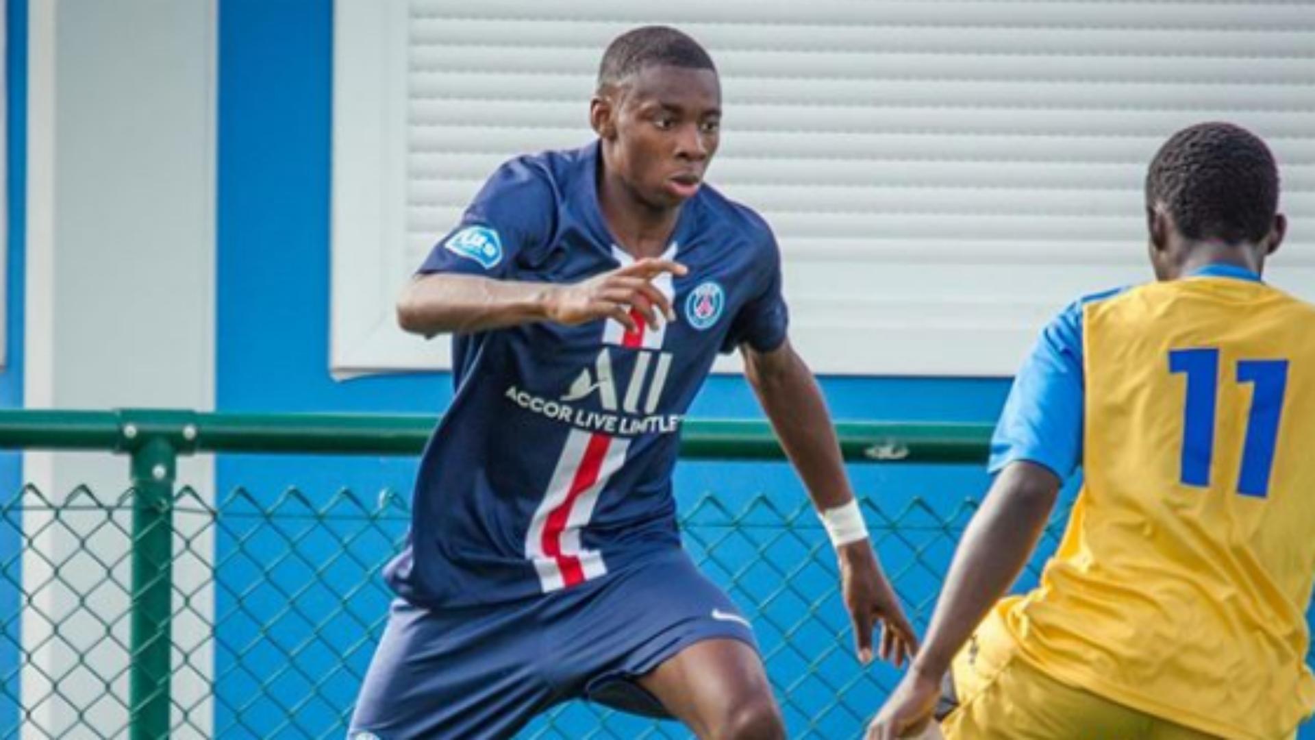 PSG confirm senior deal for academy talent Nagera