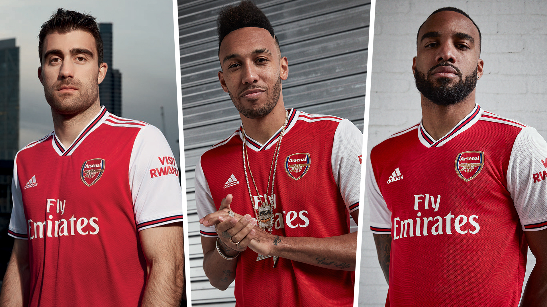 New Arsenal Kit Gunners Unveil 2019 2020 Home Shirt Goal Com