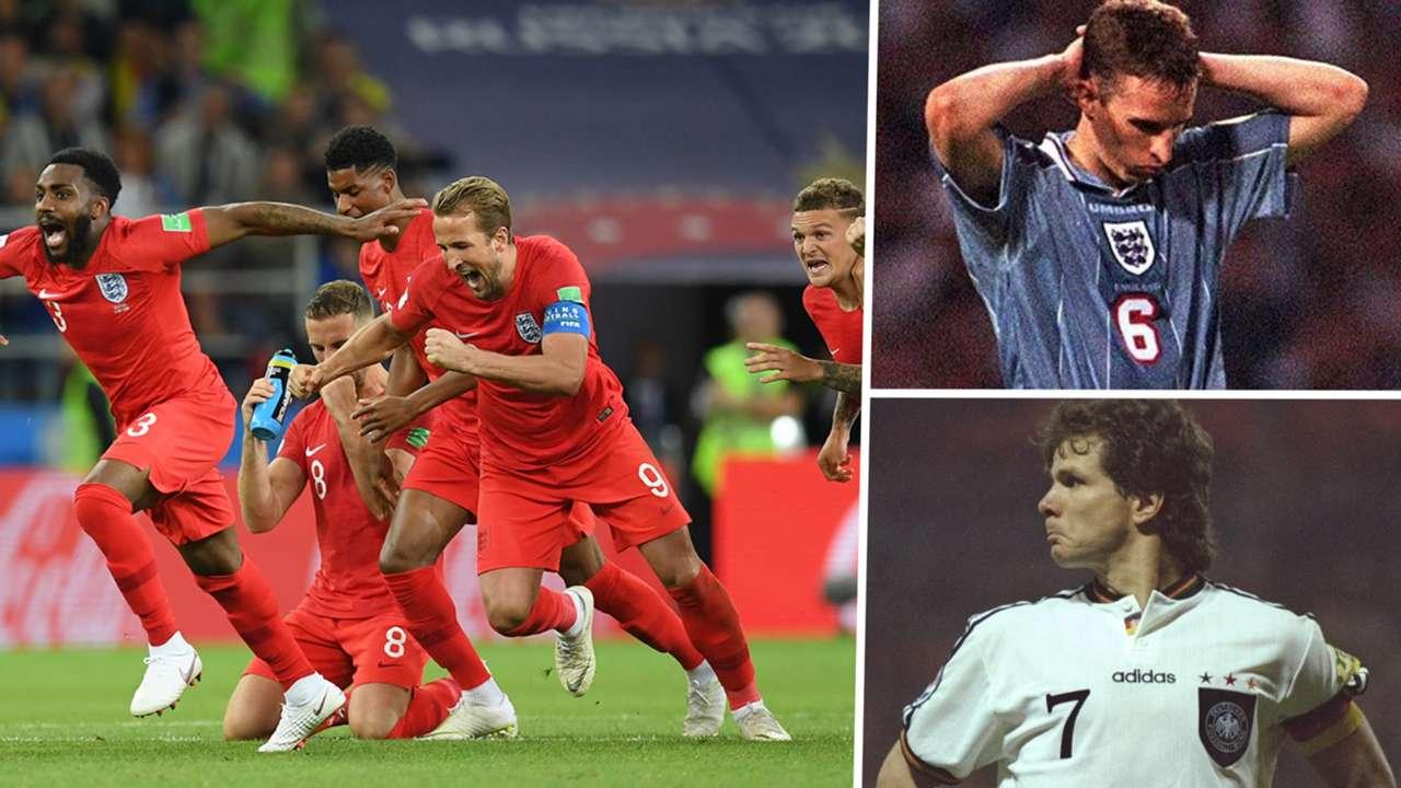 England penalty shootout composite