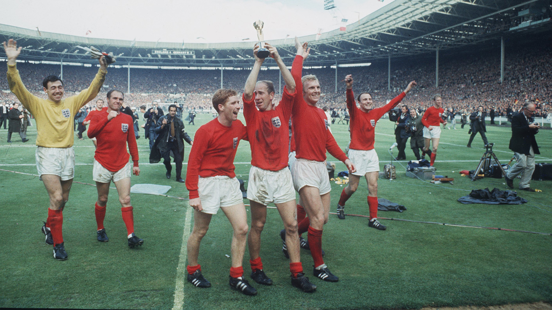 England West Germany World Cup 1966