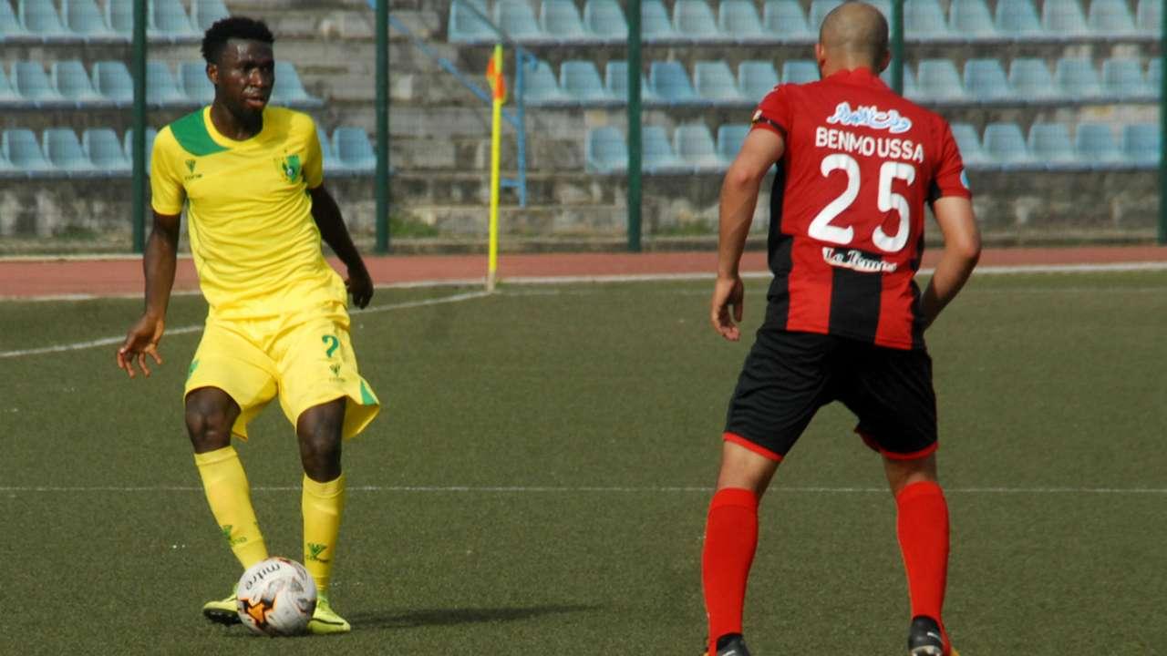 Plateau United vs. USM Alger - Chizoba Amaefule, Ben Moussa