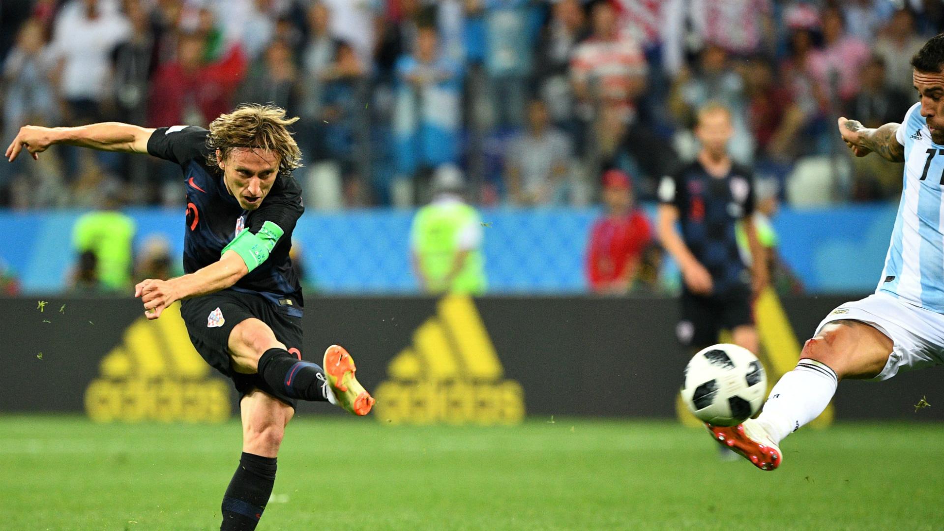 Luka Modric CroatiaWorld Cup