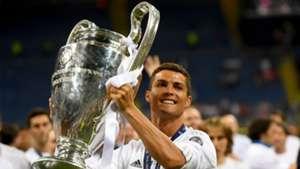 Cristiano Ronaldo Champions League trophy