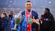 Kylian Mbappe PSG Coupe de France 2020-21