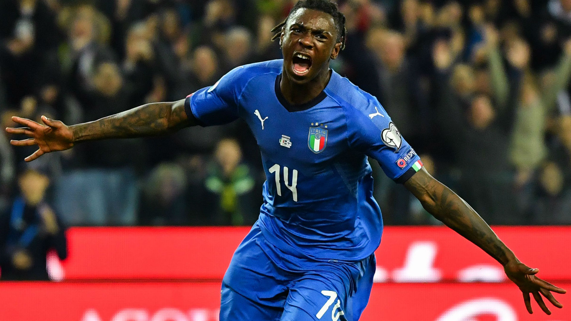 Juventus News Moise Kean Becomes Second Youngest Goalscorer In Italy History In Win Over Finland Goal Com