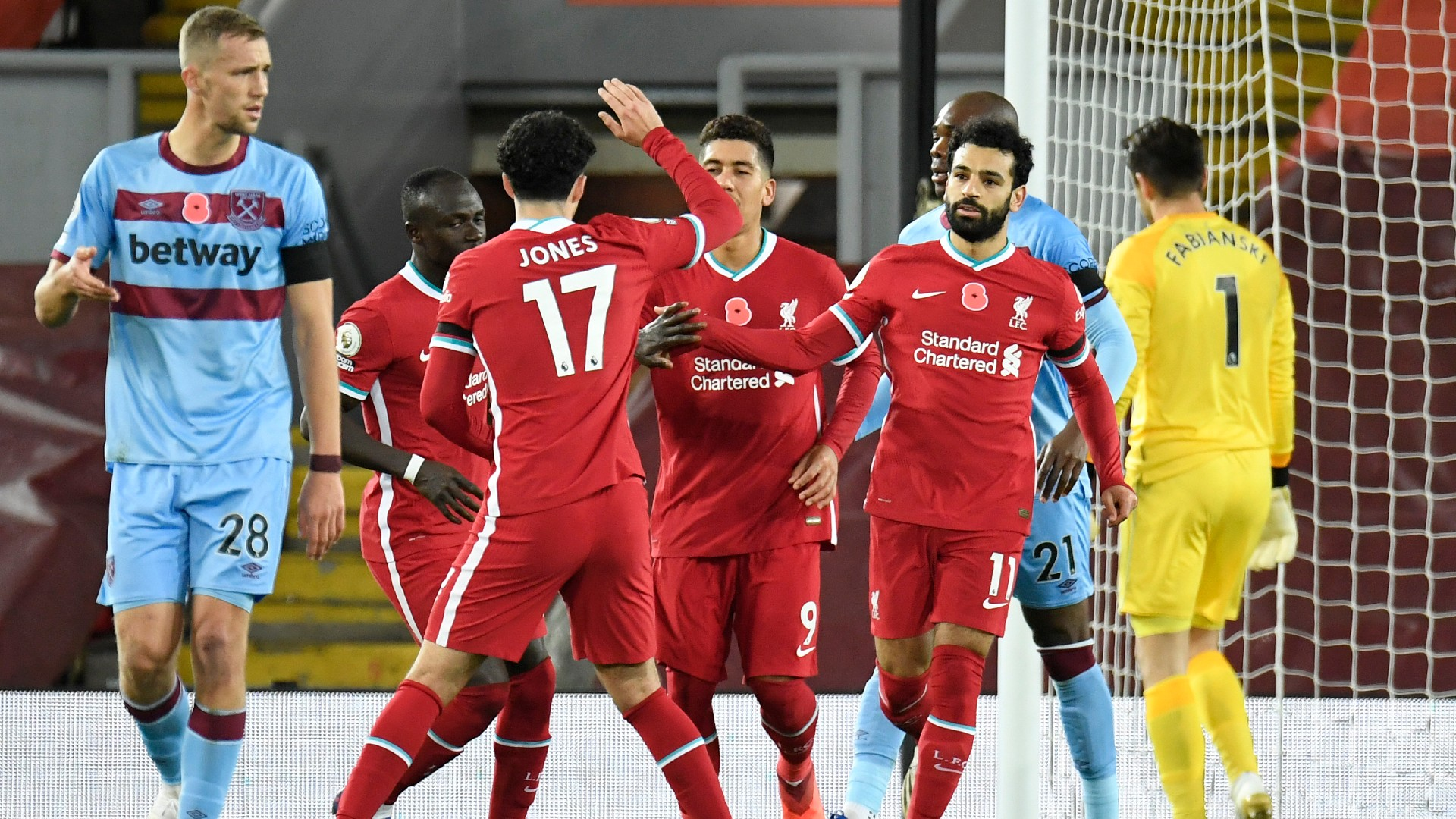 Liverpool equal all-time club record with 63rd straight unbeaten league  home match | Goal.com