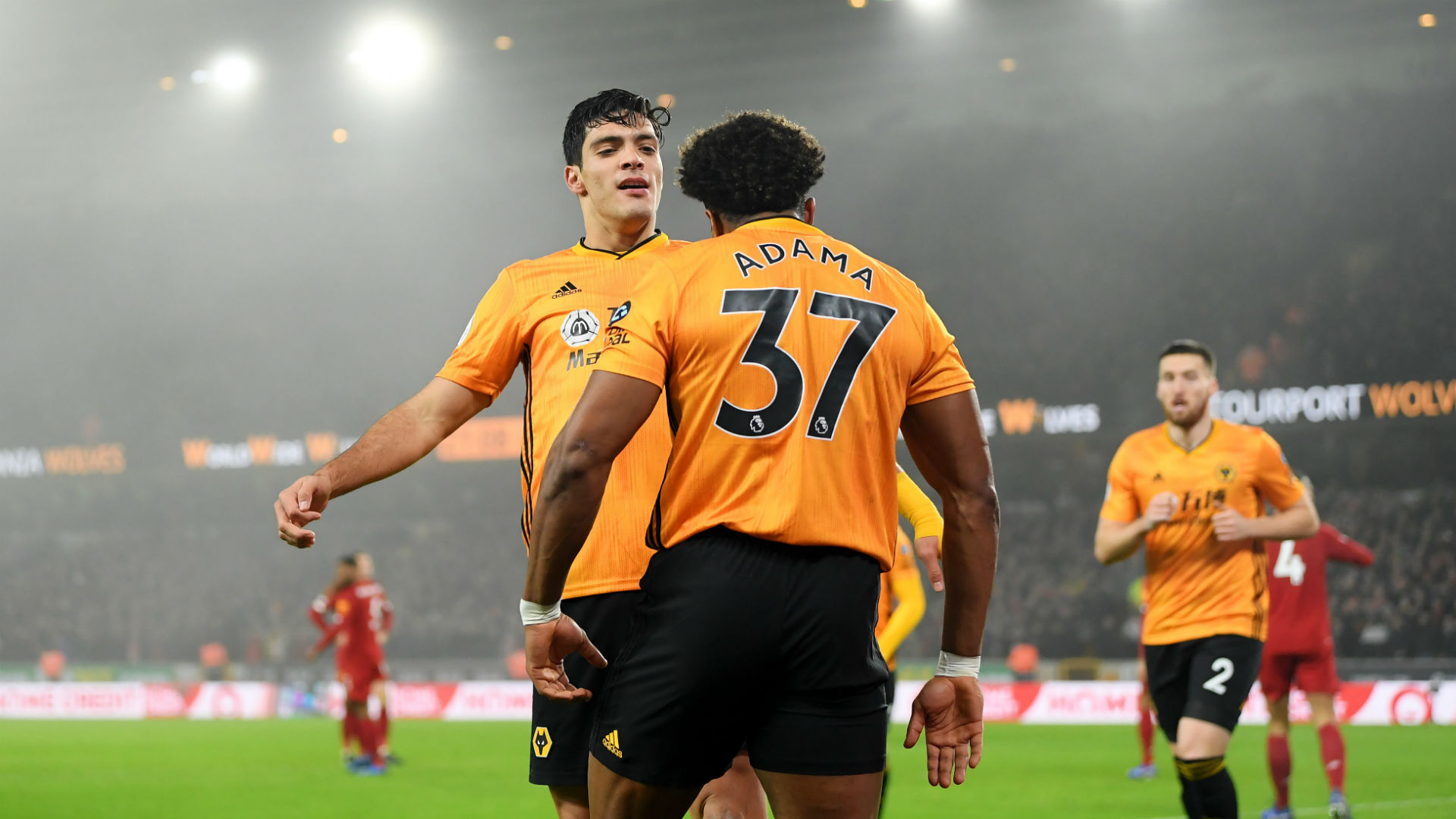 Traore and Jimenez solid partnership continues in Wolves victory over Bournemouth
