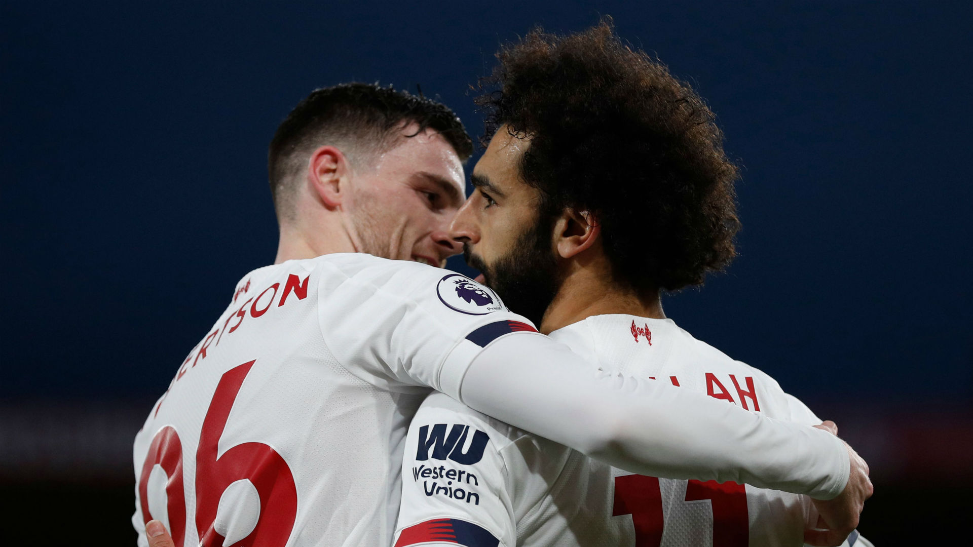 Robertson annoys Salah with Liverpool five-a-side team that includes 'best in the world' Mane