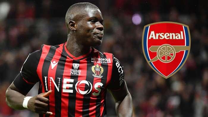 Malang Sarr Nice Arsenal 2019-20