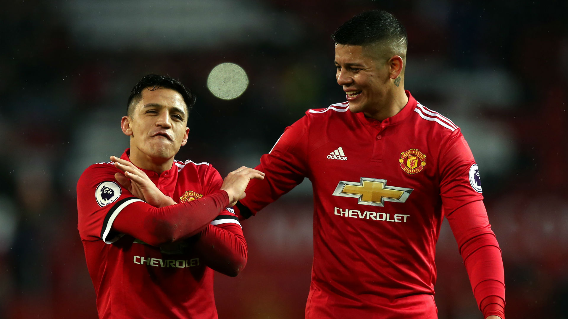 Man Utd Squad Numbers Marcos Rojo Leaves No 5 Shirt Vacant Goal Com