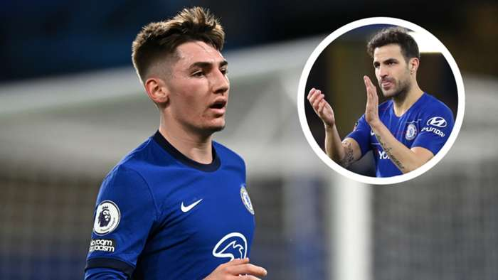 Billy Gilmour Cesc Fabregas