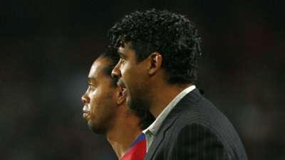 Frank Rijkaard, Ronaldinho, Barcelona 01312008