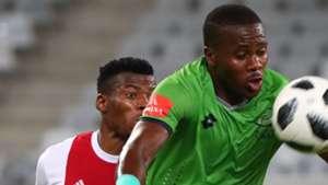 Isaac Nhlapo, Ajax Cape Town & Bongi Ntuli, Platinum Stars