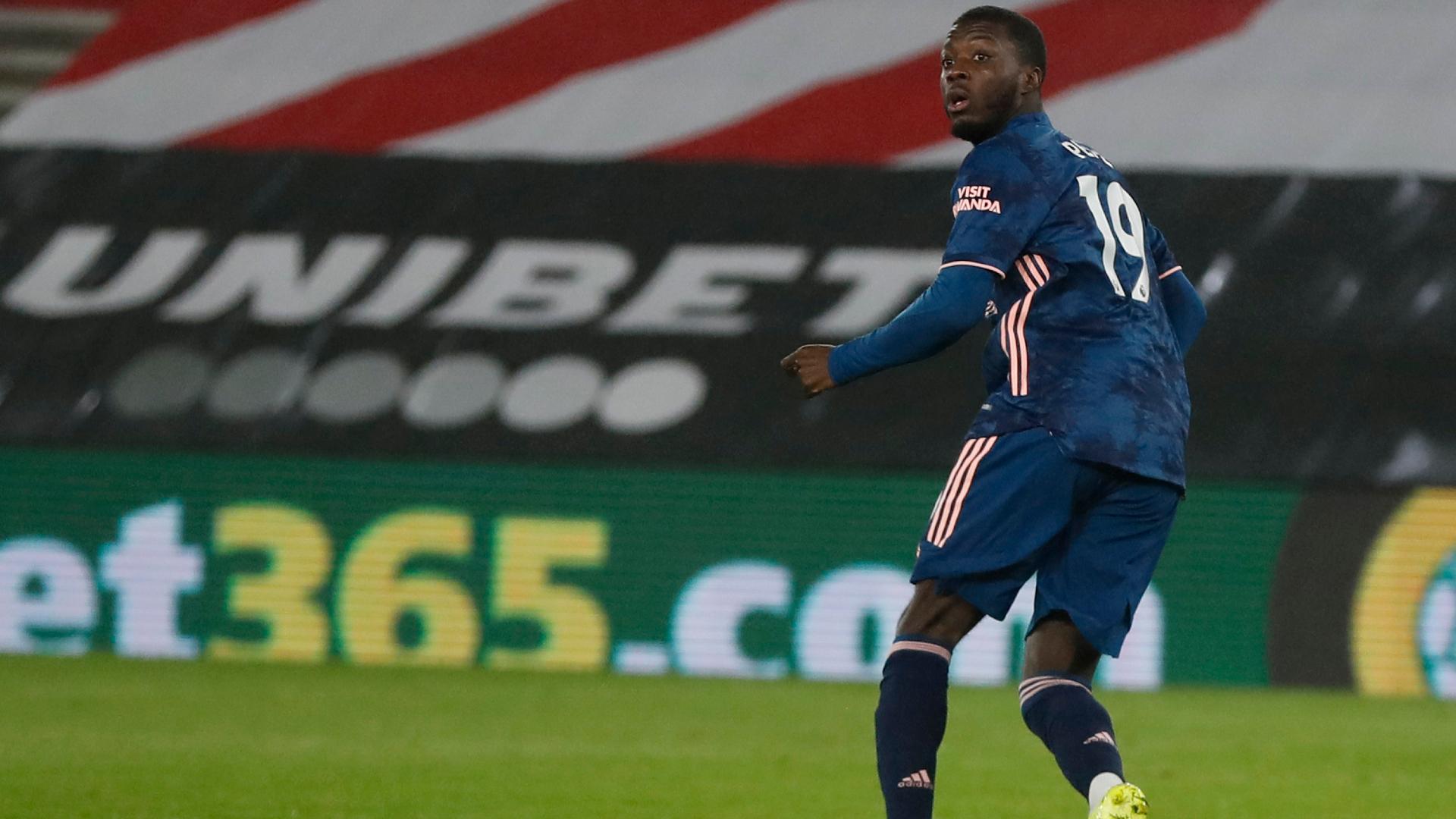 Nicolas Pepe Arsenal 2020-21