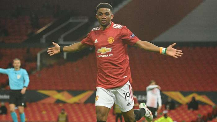 Amad Diallo Manchester United 2020-21