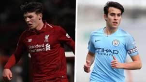 Bobby Duncan Liverpool Eric Garcia Manchester City