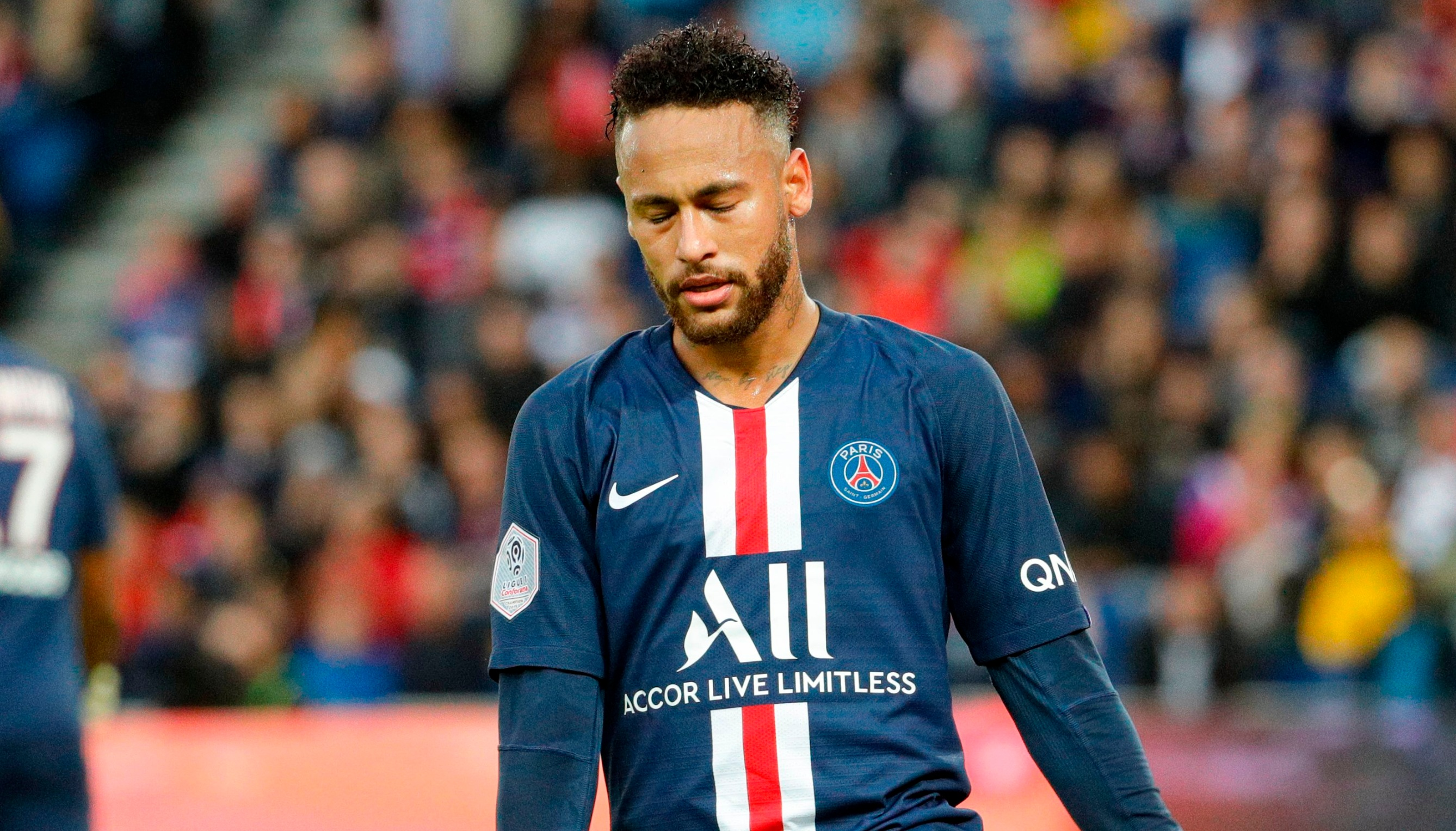 Neymar on his relationship with PSG fans: The love will return