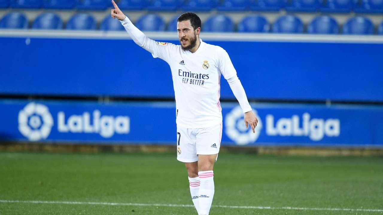 Eden Hazard Real Madrid 2020-21
