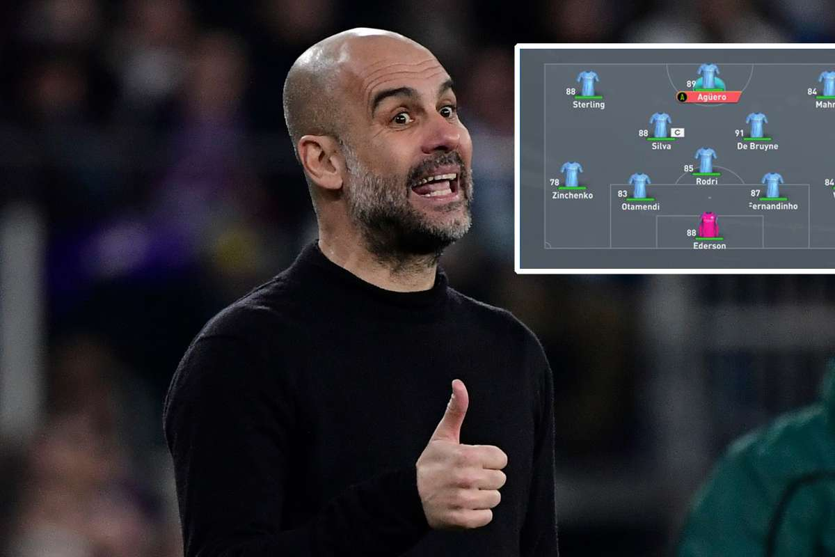 FIFA 20 tactics: How to set up like Guardiola's Man City on Ultimate Team