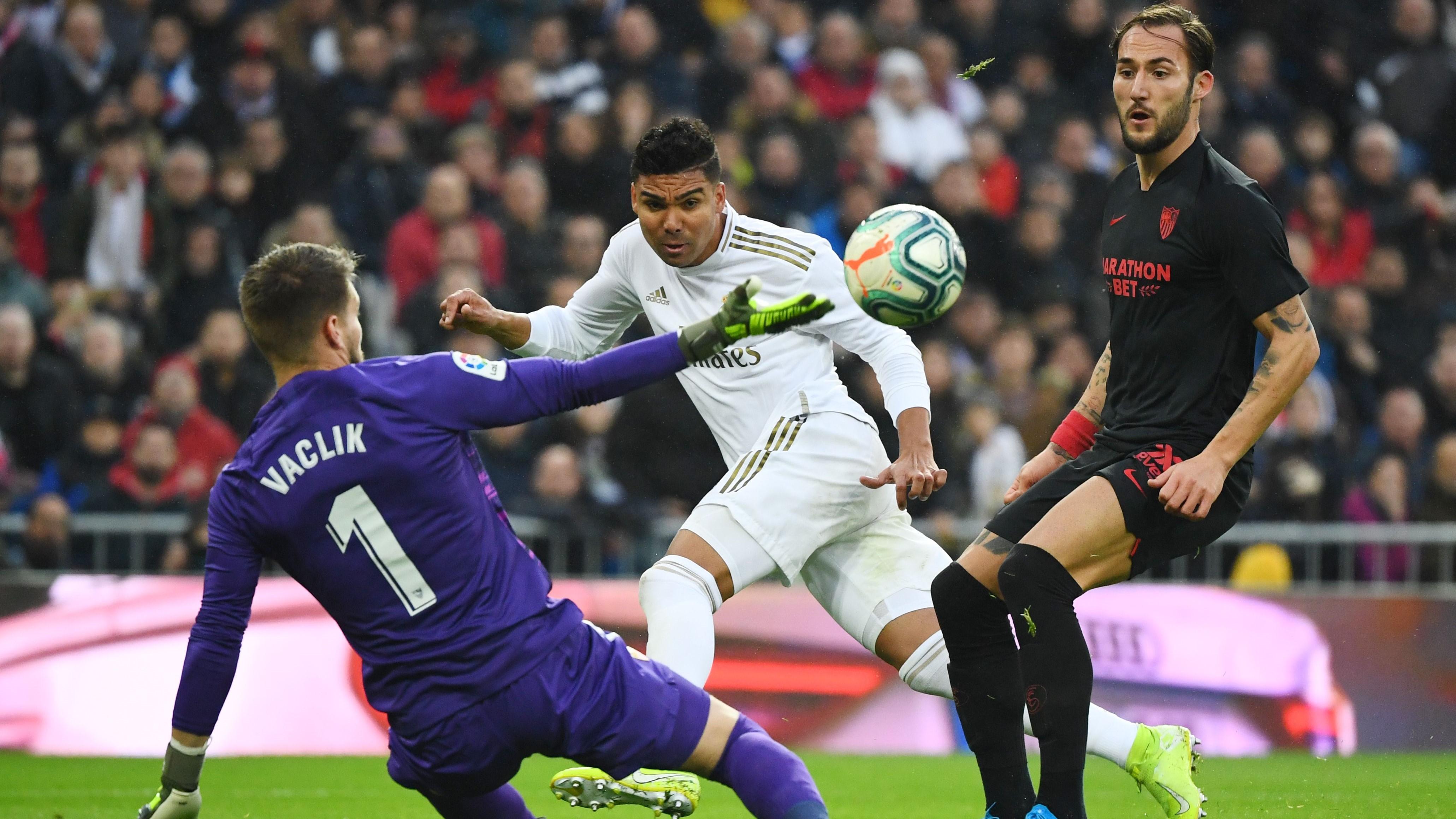Real Madrid-Séville (2-1) - Le leader sauvé par un héros nommé Casemiro