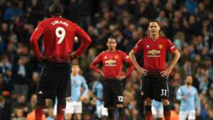 Nemanja Matic Manchester City vs Manchester United Premier League 2018-19