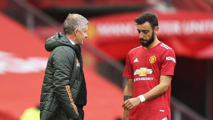 Solskjaer/Bruno Fernandes Manchester United 2020-21