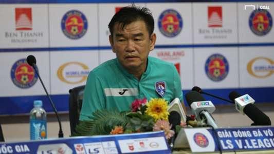 (V.League) Bám sát top 1, HLV Quảng Ninh vẫn đặt mục tiêu khiêm tốn