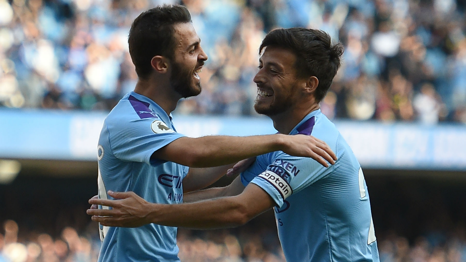 'David Silva is one of the best midfielders of all-time' - Bernardo hails Man City team-mate