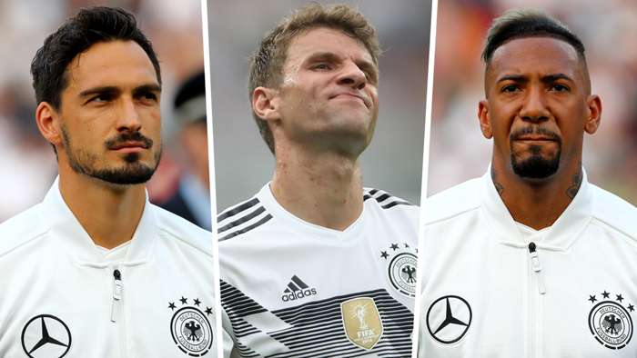 Mats Hummels Thomas Muller Jerome Boateng Germany