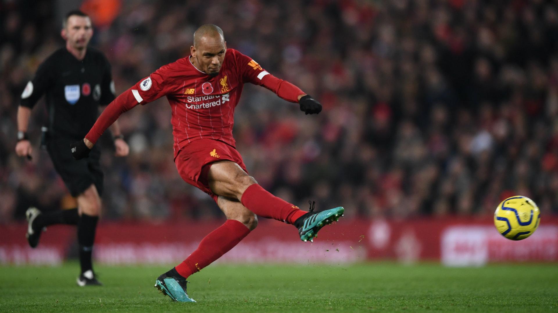 Fabinho Liverpool vs Man City 2019-20