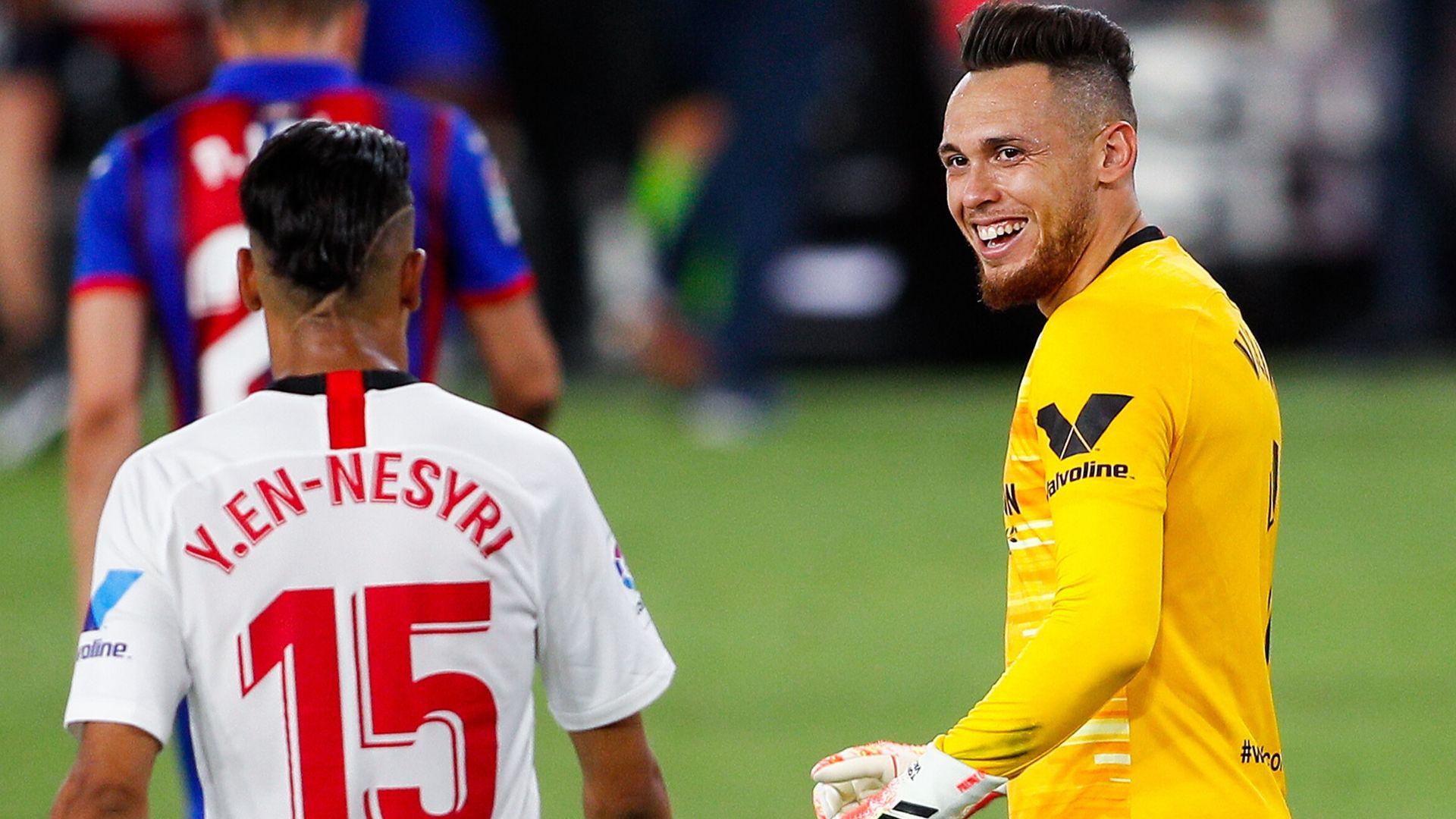 Vidéo - Quand Ocampos finit gardien de but… et sauve Séville ...