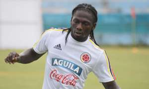 Yimmi Chará entrenamiento Selección Colombia 29082017