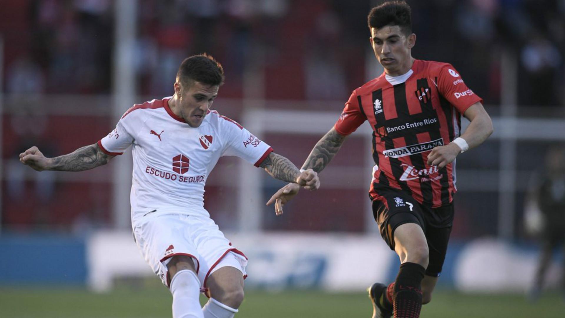 Fabricio Bustos Patronato Independiente Superliga 31082019