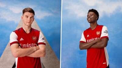 Arsenal kit adidas 2021-22 home