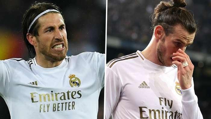 Sergio Ramos Gareth Bale Real Madrid 2019-20