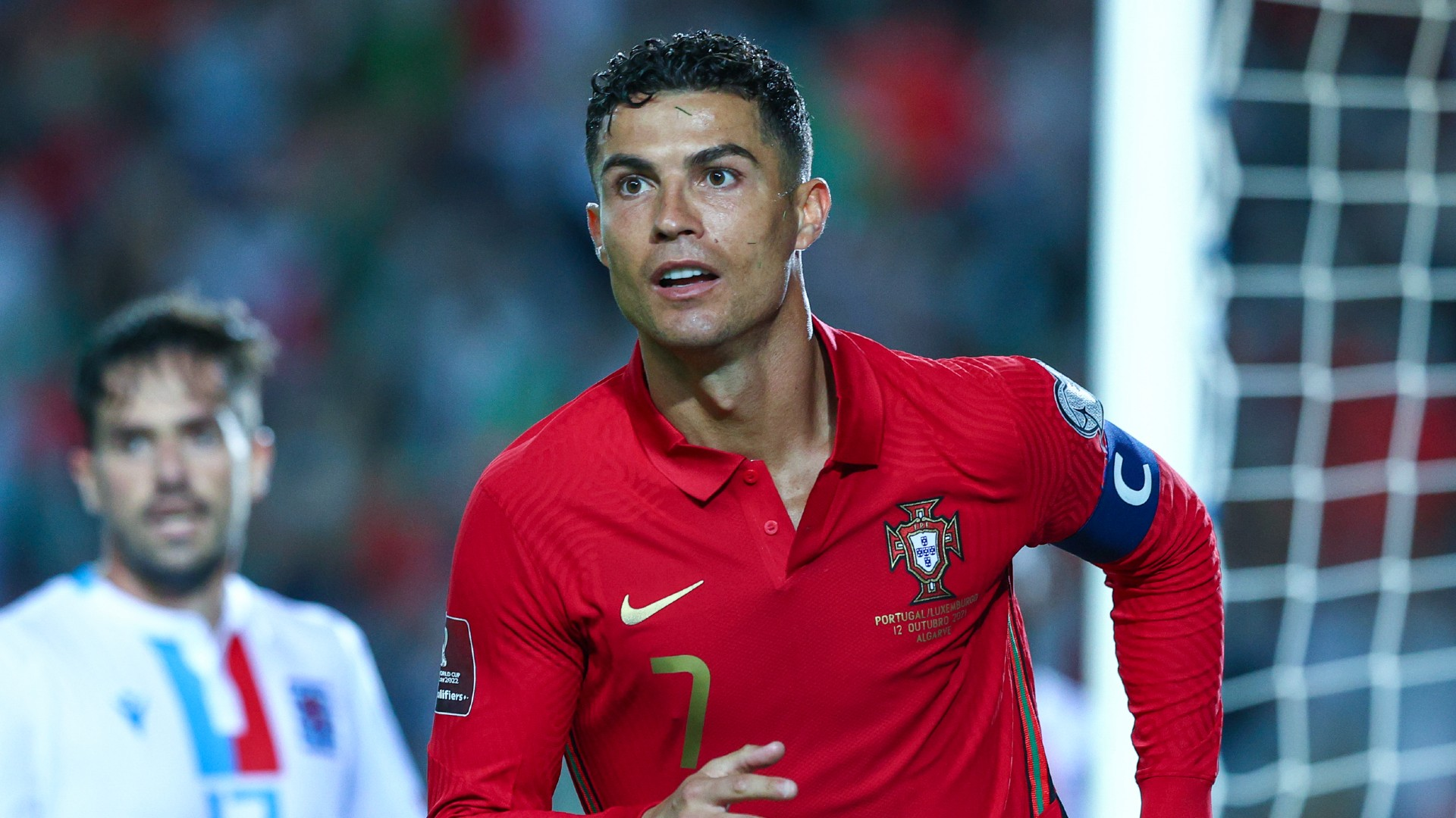 Ronaldo becomes the first men's player to score 10 international hat-tricks as Portugal thrash Luxembourg 5-0
