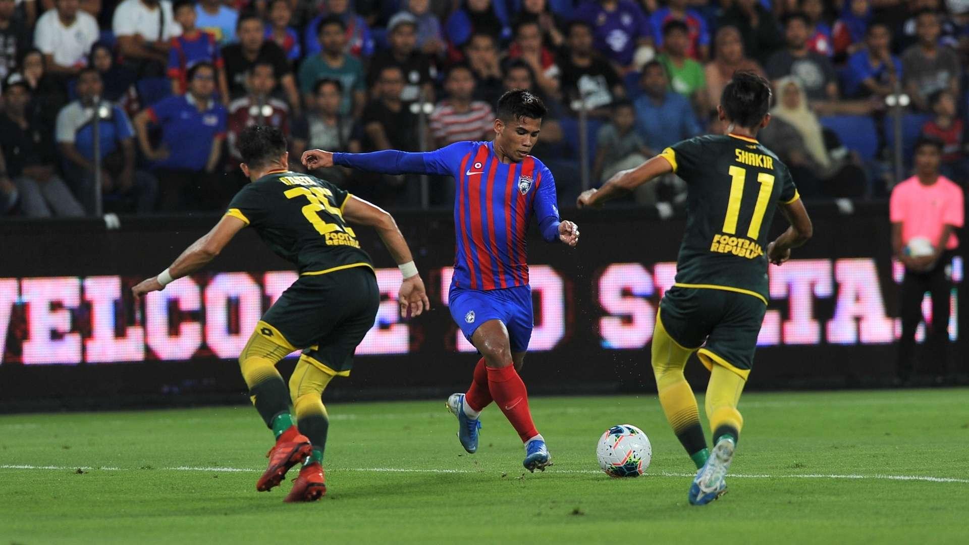 Jdt Edge Out Kedah To Lift First Silverware Of 2020 Season Goal Com