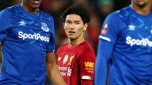 Takumi Minamino Liverpool 2019-20