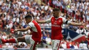 Alexis Sanchez Aaron Ramsey Arsenal Chelsea FA Cup final