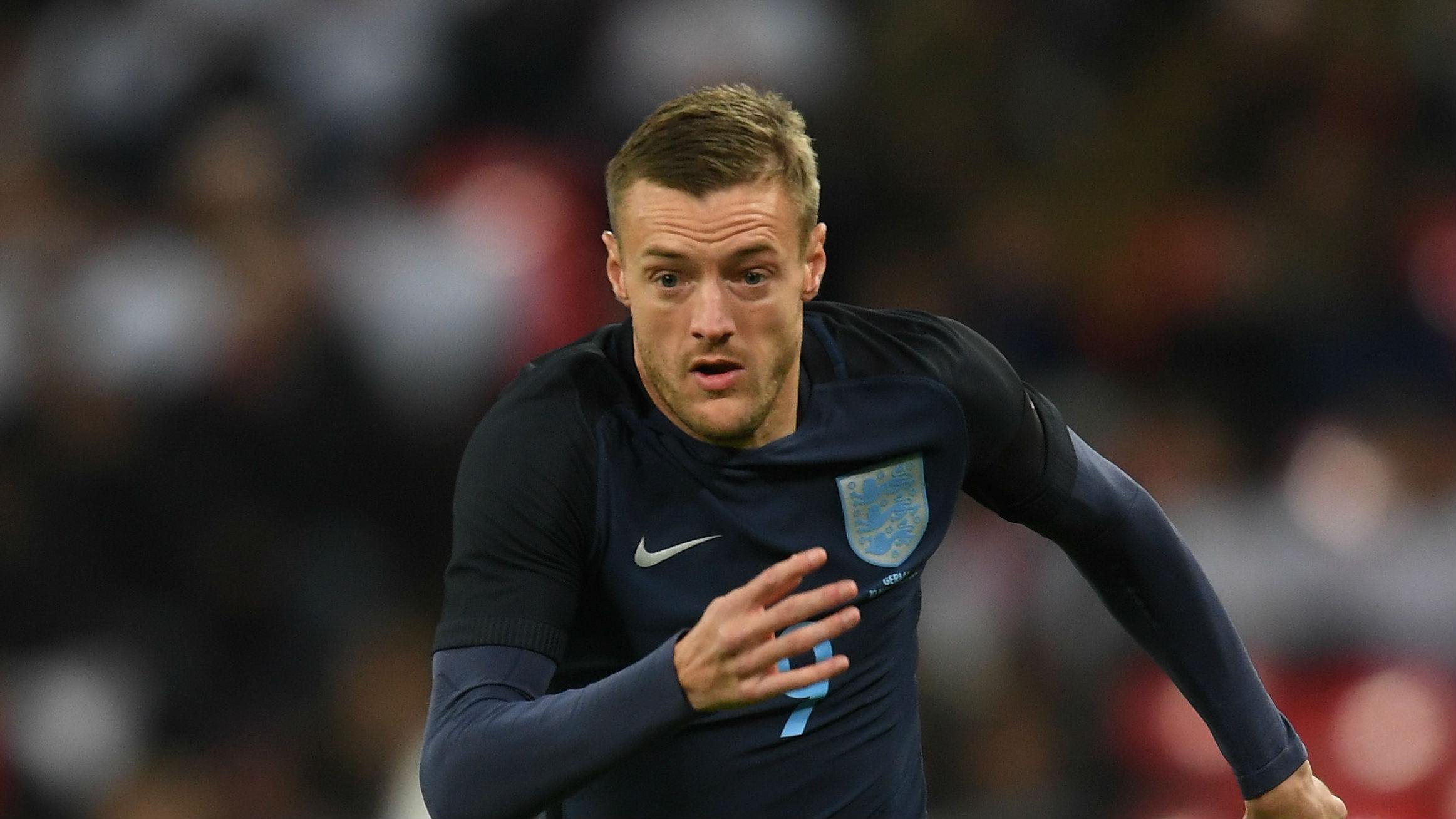 Jamie Vardy England Germany