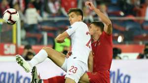 Krzysztof Piatek Poland Portugal UEFA Nations League