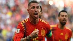 Sergio Ramos Spain Russia
