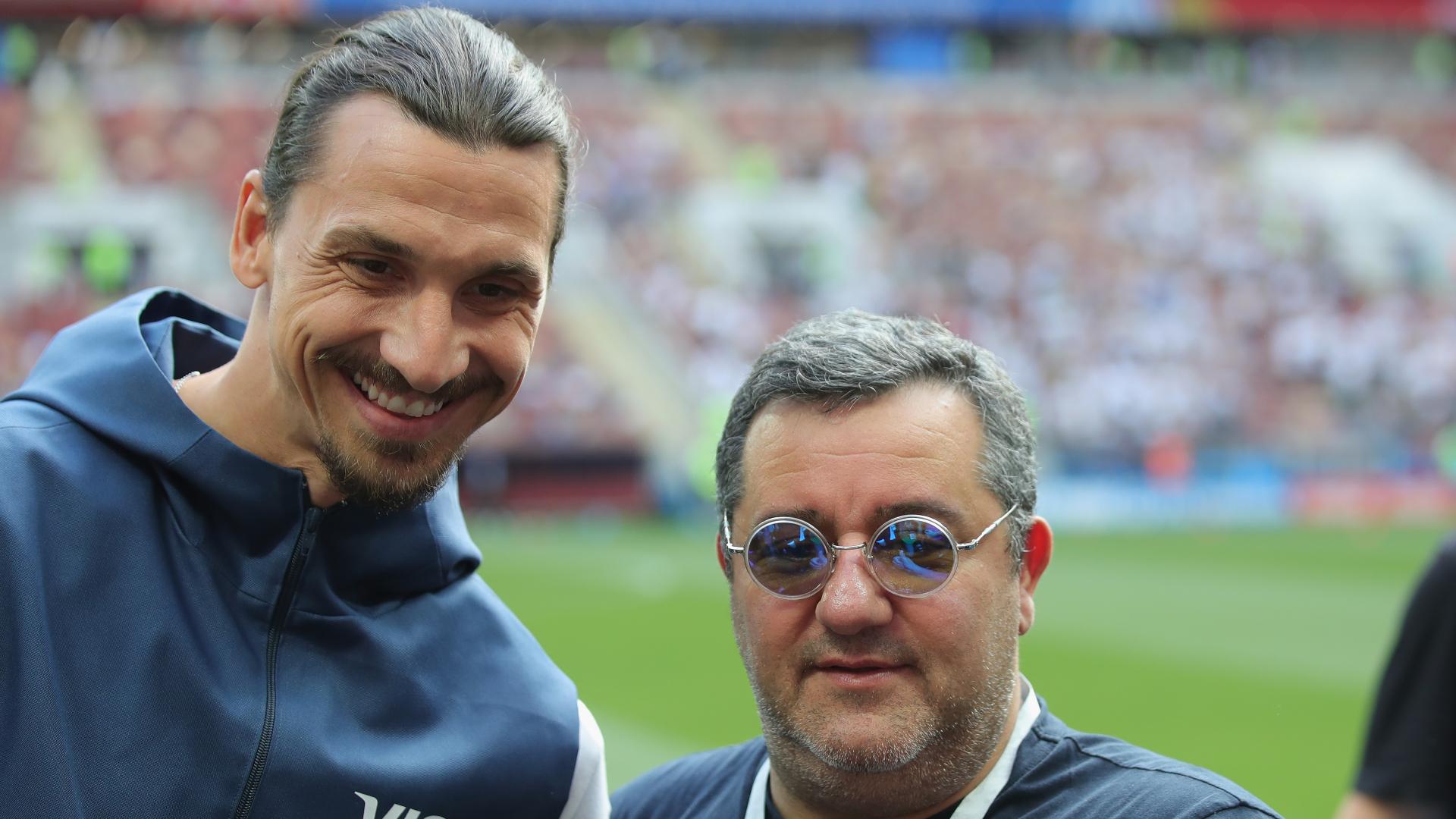 Raiola joins Ibrahimovic's crusade over FIFA 21 player rights