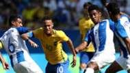 Neymar Brazil v Honduras Olympic Games Rio 2016