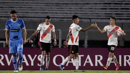 Suarez Carrascal Borre River Plate Binacional Libertadores 11032020