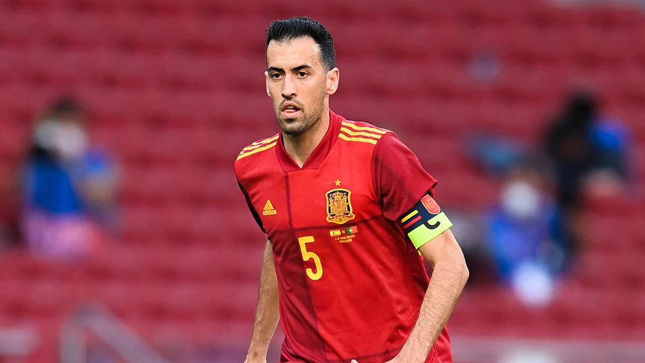 Sergio Busquets Spain 2021