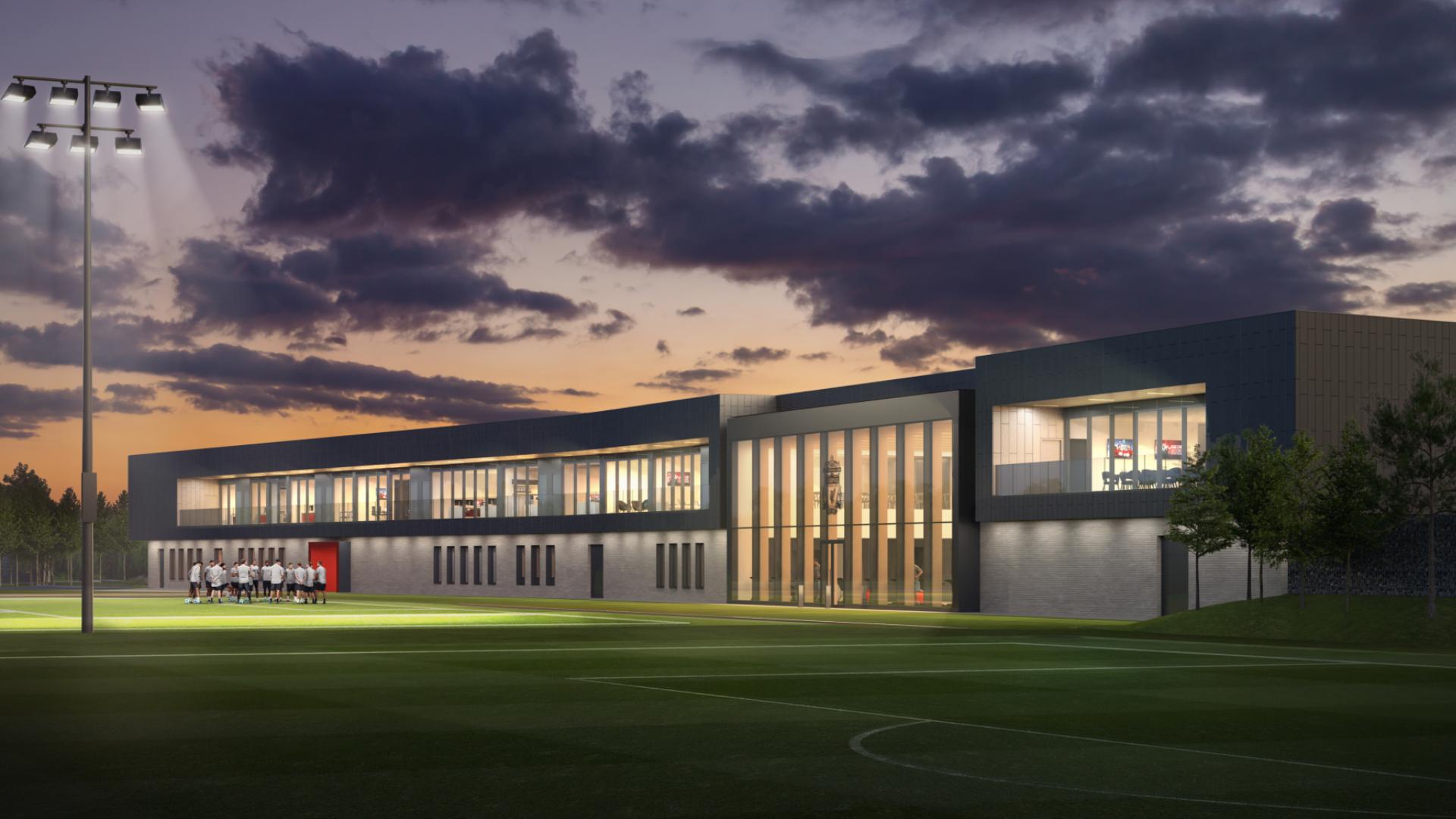 New Liverpool training ground (artists impression)